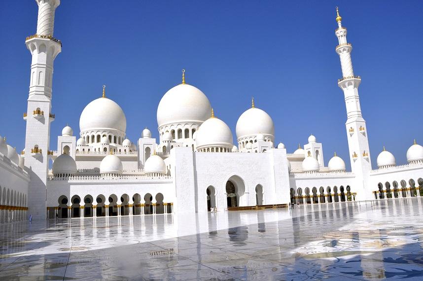 Uni Emirat Arab – Abu Dhabi – Sheikh Zayed Mosque
